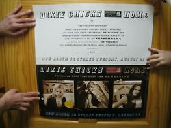 Dixie Chicks Poster Home Face Shots Of Band Long Time Gone Landslide 2 Sided