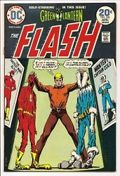 The Flash 226 Nm- 9.2 Captain Cold Green Lantern Back-up Bronze Age Dc