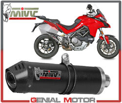 Mivv Approved Exhaust Muffler Oval Carbon Ducati Multistrada 1260 2018 2019