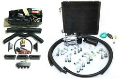 Gearhead Ac Heat Defrost Compac Air Conditioning Kit + Compressor Fittings Hoses