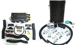 Gearhead Ac Heat Defrost Mini Air Conditioning Kit W/ Fittings Hoses Compressor