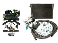 Gearhead Ac Heat Defrost Compac Air Conditioning Kit W/ Fittings Compressor Hose