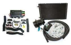 Gearhead Ac Heat Defrost Air Conditioning Mini A/c Kit W/ Compressor And Vents