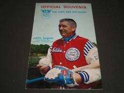 1971 Eddie Feigner Official Souvenir Program The King And His Court - St 5232
