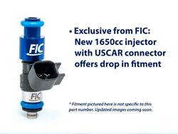 Fic 1650cc For 99-16 Ford F150 Lightning Fuel Injector Clinic Injector Set