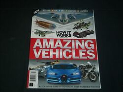 2018 How It Works Book Of Amazing Vehicles Magazine - 7th Edition - Pb 3238