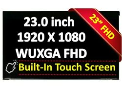 23.0 Touch Lcd Screen Panel For Lm230wf7-ssb2 1920x1080 Fhd Ips Antiglare Led