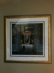 Frederick Phillips Art - And039reverieand039 Excellent Condition Ap 47/50 Framed And Signed