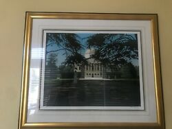 Frederick Phillips Art - And039enclaveand039 Excellent Condition Ap 47/50 Framed And Signed