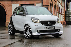 Smart Fortwo Forfour 453 Carlsson Revo Alloy Wheels Silver Summer Tyre Hankook