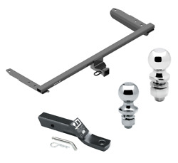 Trailer Tow Hitch For 18-21 Honda Odyssey All Styles Receiver W/ 1-7/8 2 Ball