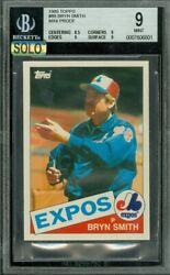 1985 Topps Mini 88 Bryan Smith Bgs 9 Mac Solo Finest 100 Cards Made