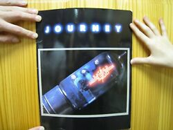 Journey Tour Book Raised On Radio Band Photographs Not A Cd Poster Album Vintage