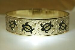 15mm Fm Solid 14k Yellow Gold Hawaiian Heirloom Custom Personalized Bangle 2