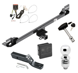 Trailer Tow Hitch For 11-17 Honda Odyssey Deluxe Package Wiring And 2 Ball And Lock