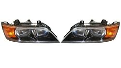 Pair Set Left And Right Genuine Composite Halogen Headlights Lamps For Bmw E36 Z3