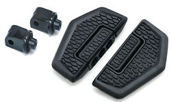 Kuryakyn 5909 Rear Hex Folding Boards And Adapter Kit And03906-and03914 Roadliner/stratoline