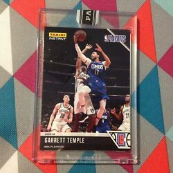 Garrett Temple Clippers Black Version 1/1 Made 2018-19 Panini Instant Playoffs