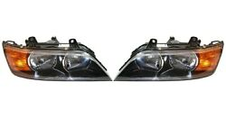 Set Left And Right Genuine Halogen Headlights Amber Turn Signals For Bmw E36 Z3 02