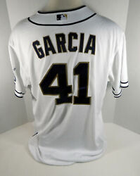 2013 San Diego Padres Freddy Garcia 41 Game Issued White Jersey Sdp0187