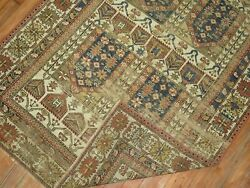 Antique Caucasian Shirvan Kazak Worn Rug Size 3and0397and039and039x5and0392and039and039