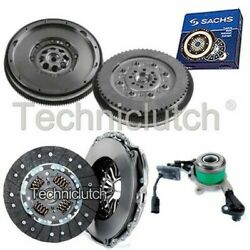 2 Part Clutch And Sachs Dmf With Csc For Mercedes-benz Sprinter Box 416 Cdi 4x4