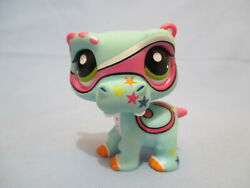 Littlest Pet Shop Ultra Rare Comic Con Tattoo Hippo 1702 Authentic Lps Exclusive