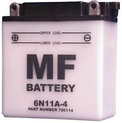Battery Conventional For 1979 Mz Simson 50 No Acid