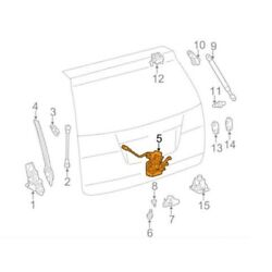 For Toyota Genuine Liftgate Latch Rear 6935008040