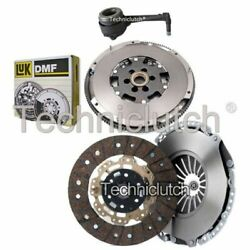 Nationwide 2 Part Clutch Kit And Luk Dmf Csc For Audi Tt Coupe 1.8 T Quattro