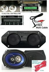 1963-1964 Cadillac Radio + Stereo Dash Replacement Speaker + 6x9and039s 630