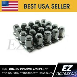 24 Lug Nuts For 6 Lug For Toyota Land Cruiser Mag Wheels On Chevy Gmc 14mm Studs