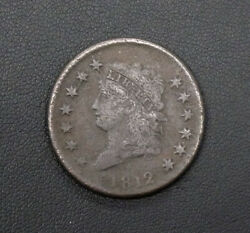 1812 Classic Head One Cent Piece - S-291 R-2