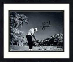 Framed Tiger Woods Autographed 16