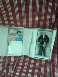 Franklin Mint John F Kennedy And Jacqueline Kennedy Heirloom Bride And Groom Dolls