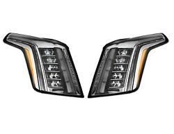 Left And Right Genuine Led Headlights Headlamps Pair Set For Cadillac Escalade Gm