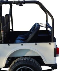 Mahindra Roxor Roll Cage Extension And 36 Rear Seat - Seat Belt Or Seat Harness