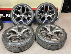 2015-2017 Dodge Challenger And Charger 20 Inch Factory Oem Wheel 2523 Used