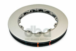 DBA T3 5000 Replacement Brake Rotor Pair Front DBA5055.1