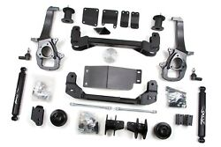 Zone Offroad 4 Suspension Lift Kit Dodge Ram 1500 2012 4wd 2 Rear Spacers
