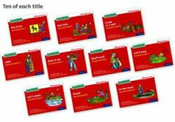 Read Write Inc Phonics Red Ditty Books Pack Of 100 By Gill Munton English Pap