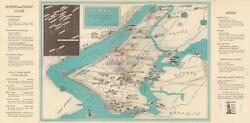 1942 Ask Mr. Foster Pictorial City Map Or Plan Of New York City