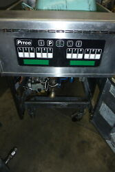 Pitco Solid State Gas Fryer75lbss/s Unit Burnerscasters 900 Items On E Bay