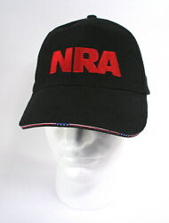 NRA Cap - Stand and Fight - National Rifle Assoc.- Black  Red  New With Tag