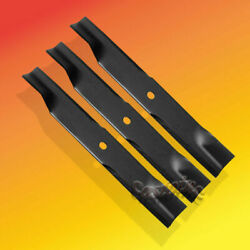 50 Cut Zero Turn Mower Blades Fitsdixie Chopperset Of 3 Blades And Others Usa