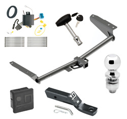 Trailer Hitch For 18-19 Honda Odyssey Without Fuse Provisions Wiring Ball And Lock