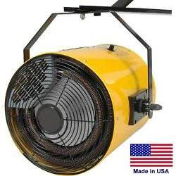 Electric Wall Heater - Forced Fan - 51195 Btu - 240 Volts - 3 Phase - 1100 Cfm