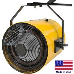 Electric Wall Heater - Forced Fan - 51195 Btu - 480 Volts - 3 Phase - 1100 Cfm