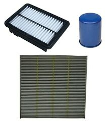 Engine Oil Air Paper Cabin Filter Kit Acdelco Pro For Honda Fit 15-18 1.5l L4