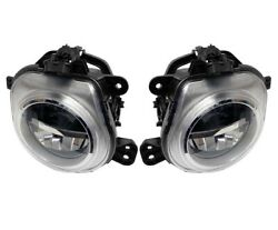 Pair Set Of Left And Right Genuine Led Fog Lights Lamps For Bmw F15 F16 F25 F26